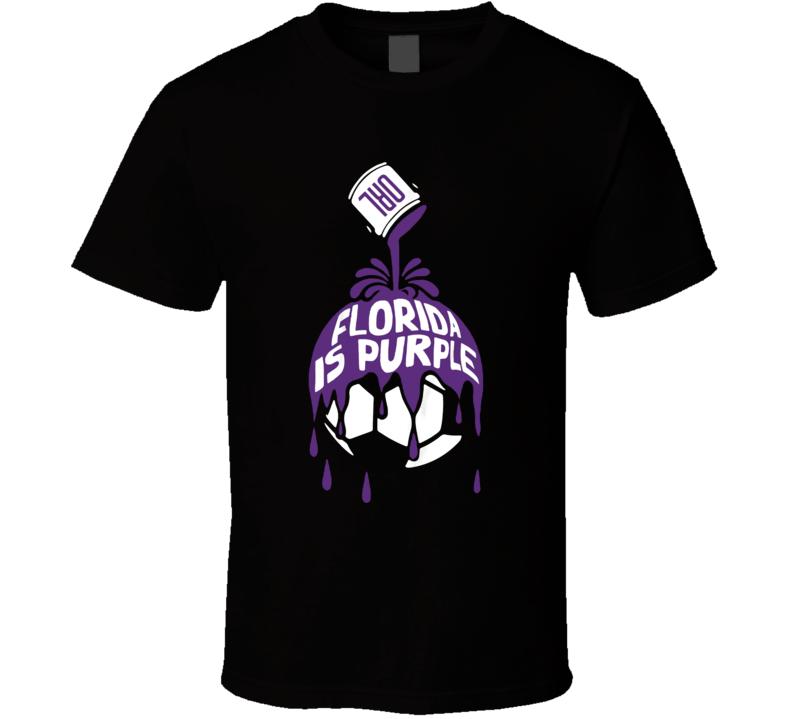 Florida Is Purple Orlando Beat Miami 2020 Soccer T Shirt