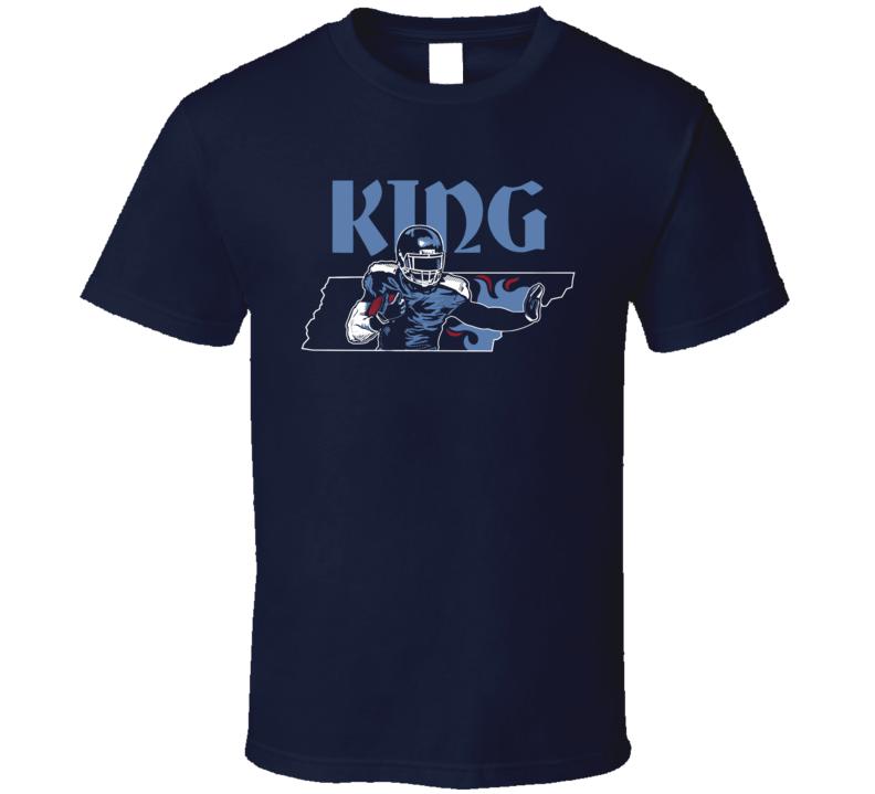 King Of Tennessee Derrick Henry Football T Shirt
