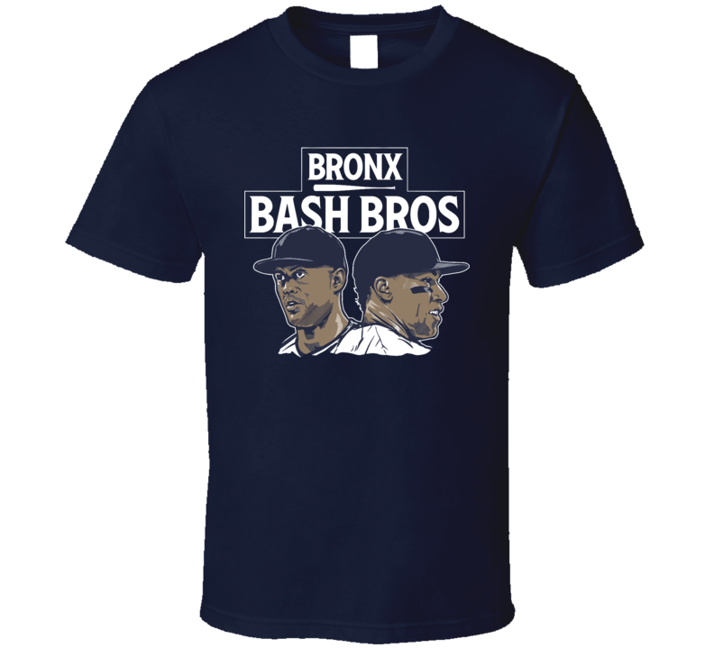 Bronx Bash Bros Aaron Judge Giancarlo Stanton Baseball T Shirt
