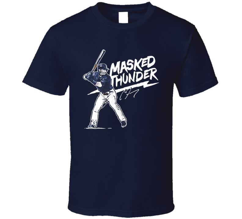 Masked Thunder Clint Frazier Baseball T Shirt