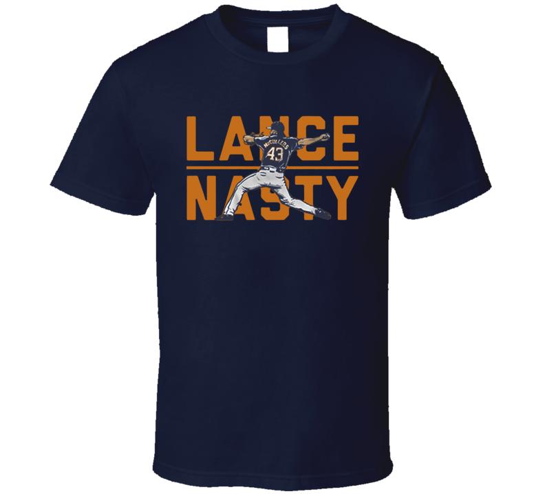 Lance Mccullers Lance Nasty Houston Baseball T Shirt