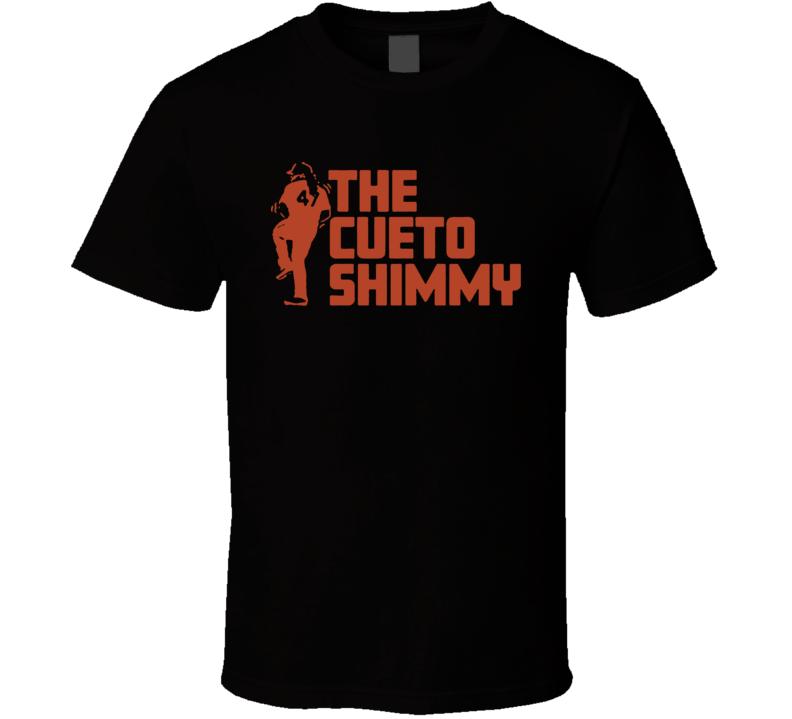 Johnny Cueto The Cueto Shimmy T Shirt