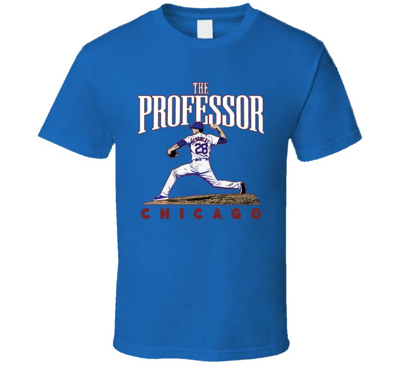 The Professor Kyle Hendricks Chicago Baseball T Shirt