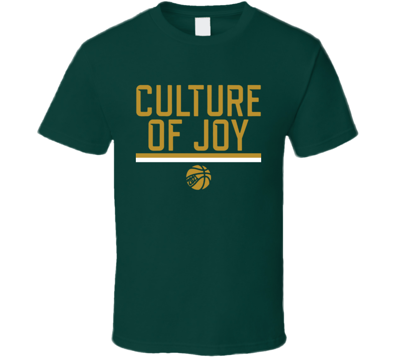 Culture Of Joy Waco Texas Basketball T Shirt