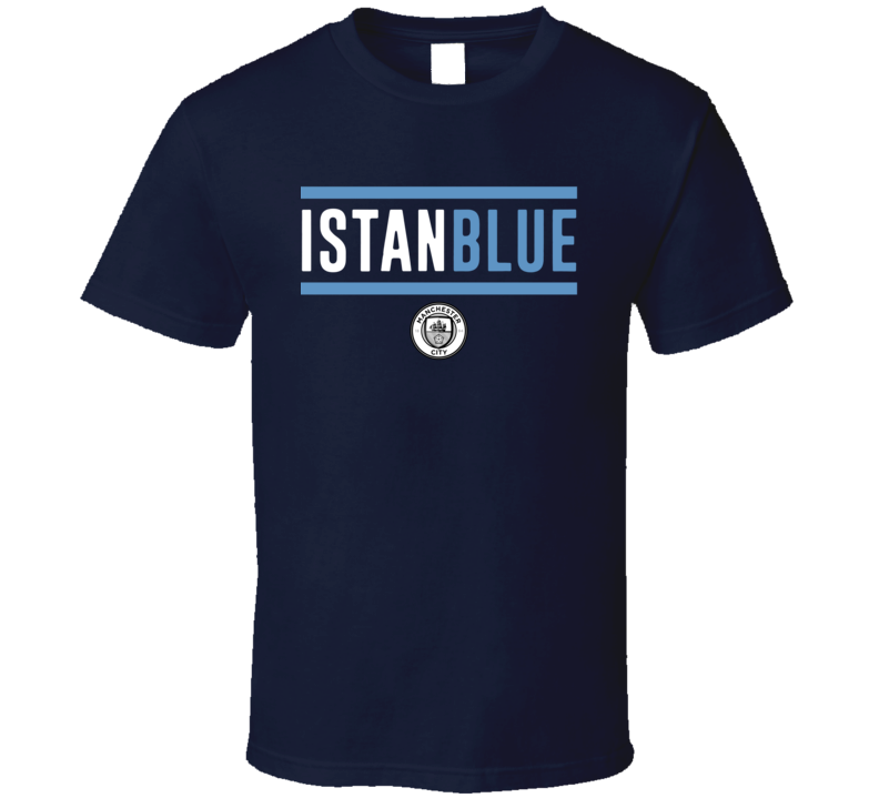 Istanbul City Istanblue Manchester Football T Shirt