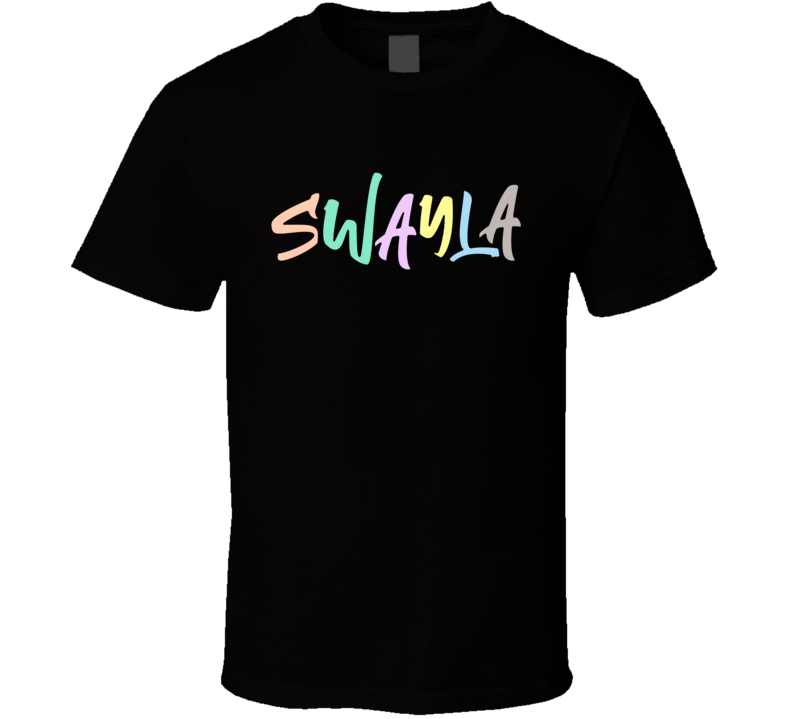 Swayla Sway Style Script Limited Edition T Shirt