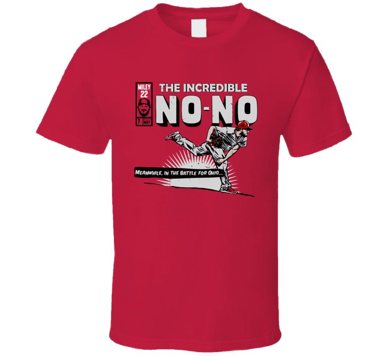 Wade Miley The Incredible No No Cincinnati Baseball  T Shirt
