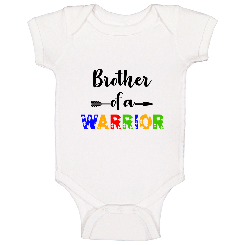 Brother Of A Warrior Baby One Piece