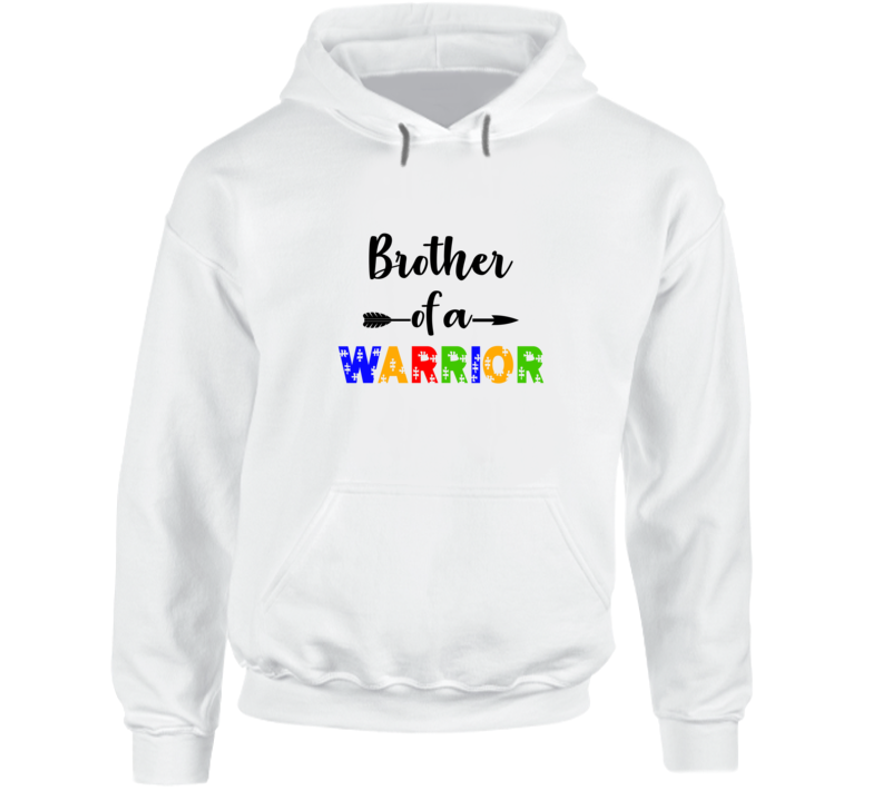 Brother Of A Warrior Hoodie