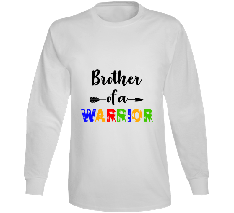 Brother Of A Warrior Long Sleeve T Shirt