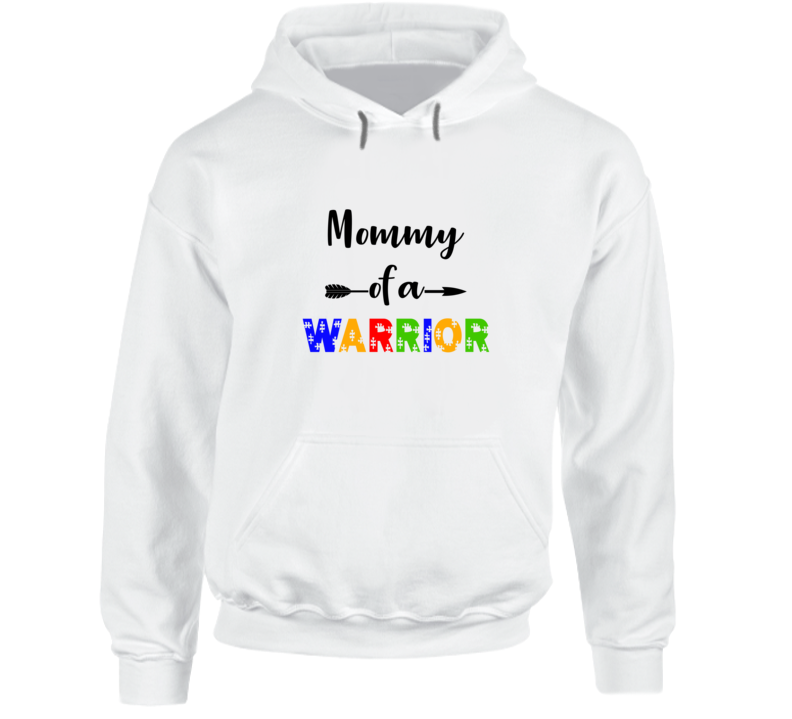 Mommy Of A Warrior Hoodie