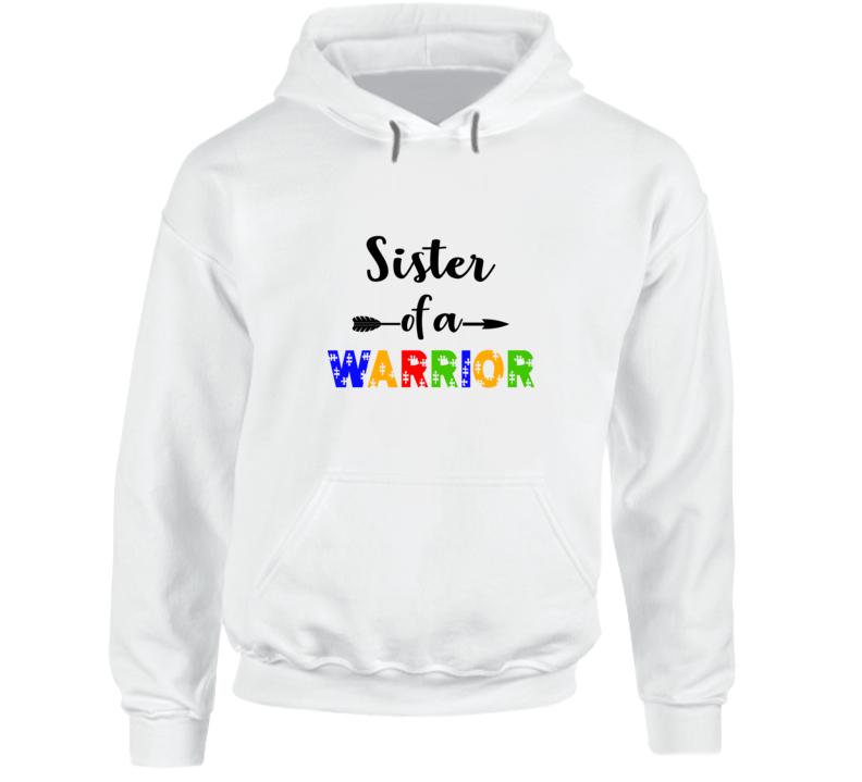 Sister Of A Warrior Hoodie