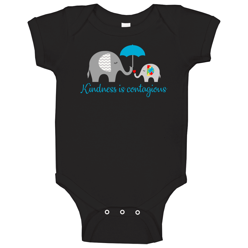 Kindness Is Contagious Baby One Piece
