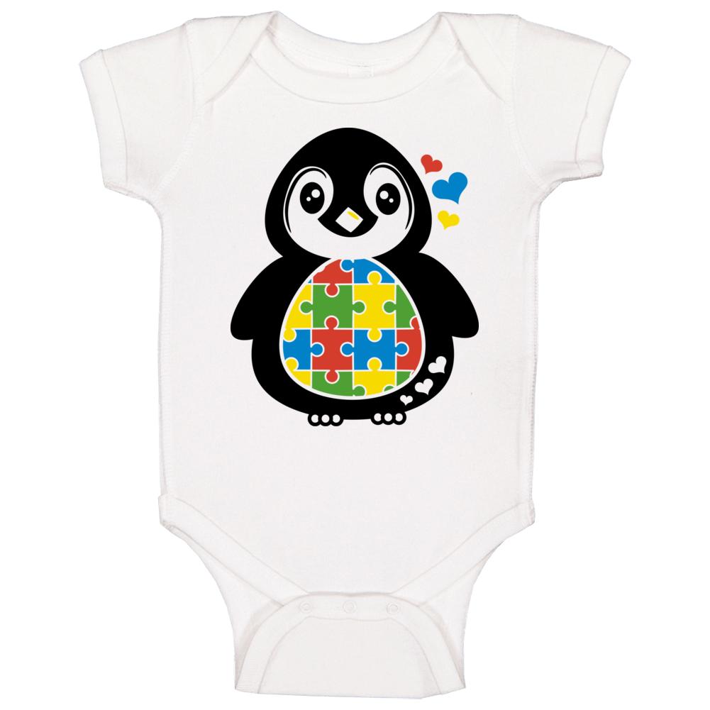 Penguin  Baby One Piece