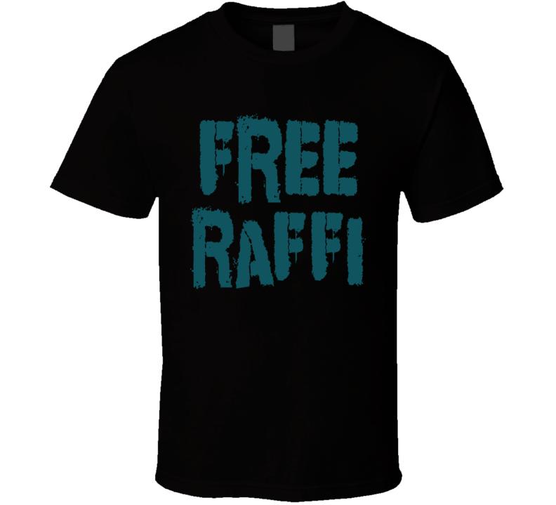 Free Raffi Torres San Jose Hockey Playoffs Tee T Shirt