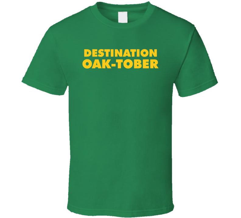Oakland As Oaktober Baseball T Shirt