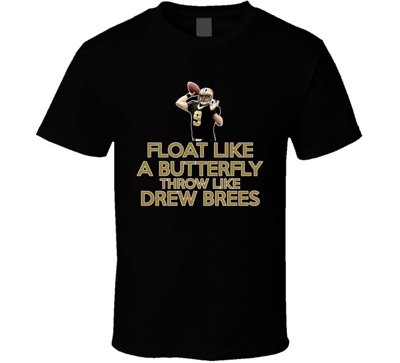 Drew Brees Quarterback New Orleans Football T Shirt