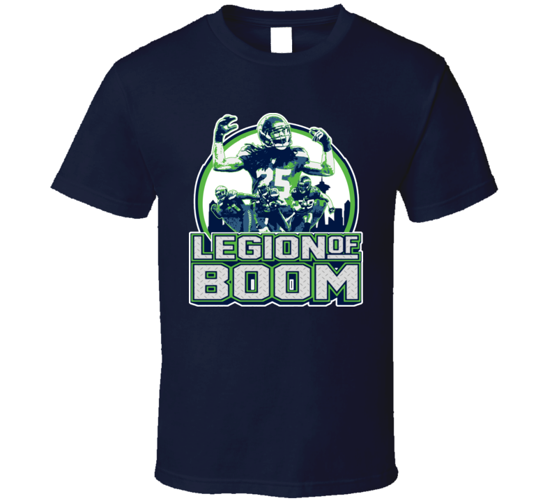 Seattle  Defense Legion Of Boom Nfl Football T Shirt