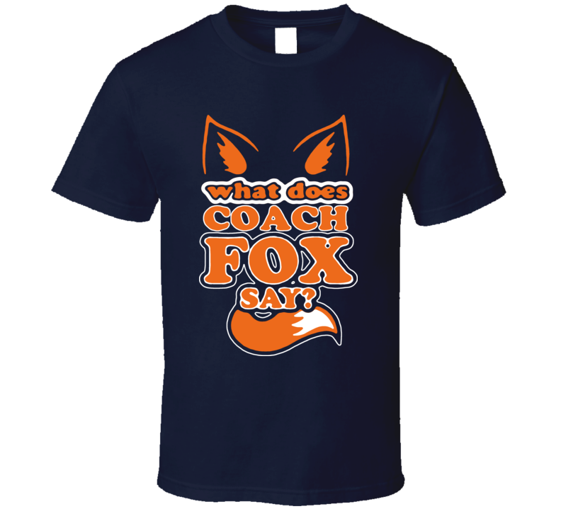 John Fox Denver Coach Football T Shirt