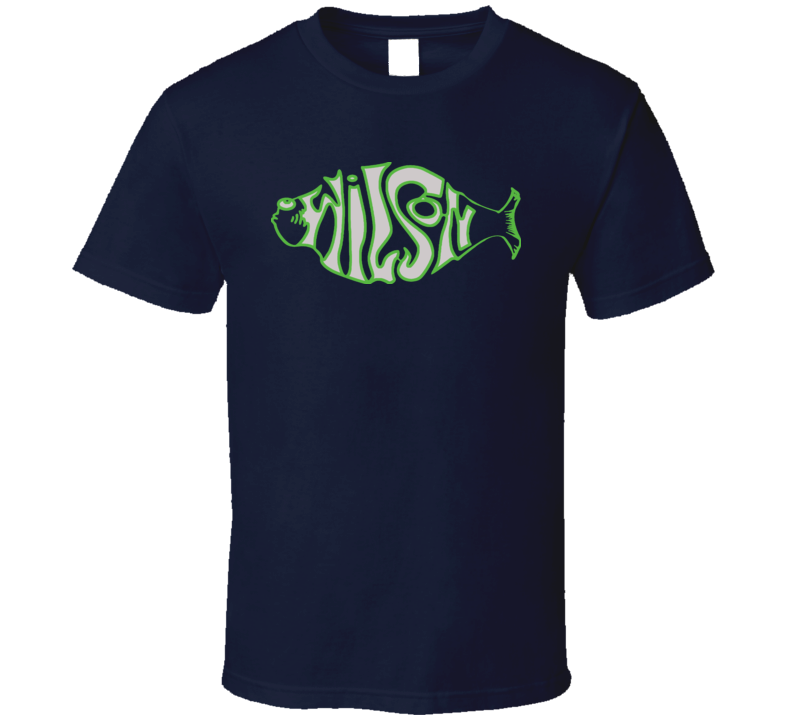 Russel Wilson Phish Seattle Football T Shirt
