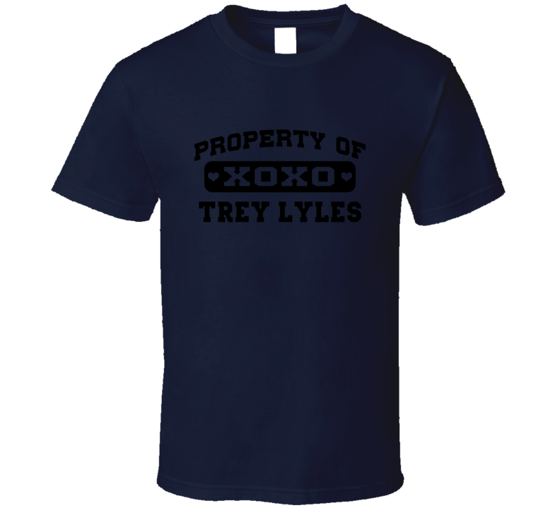 Property Of Tell Trey Lyles Basketball Utah T Shirt