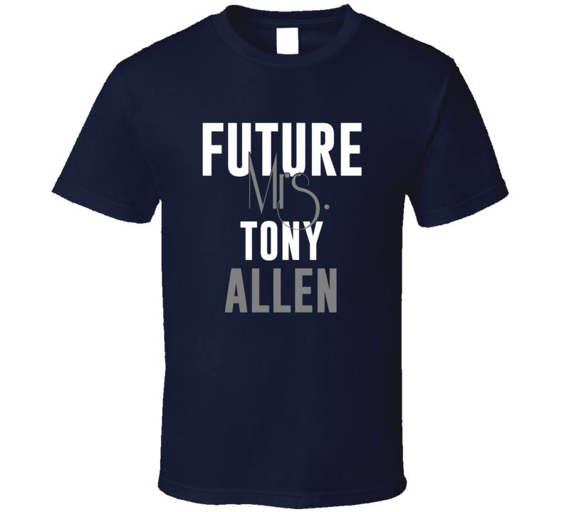 Future Mrs Tony Allen Basketball Memphis T Shirt