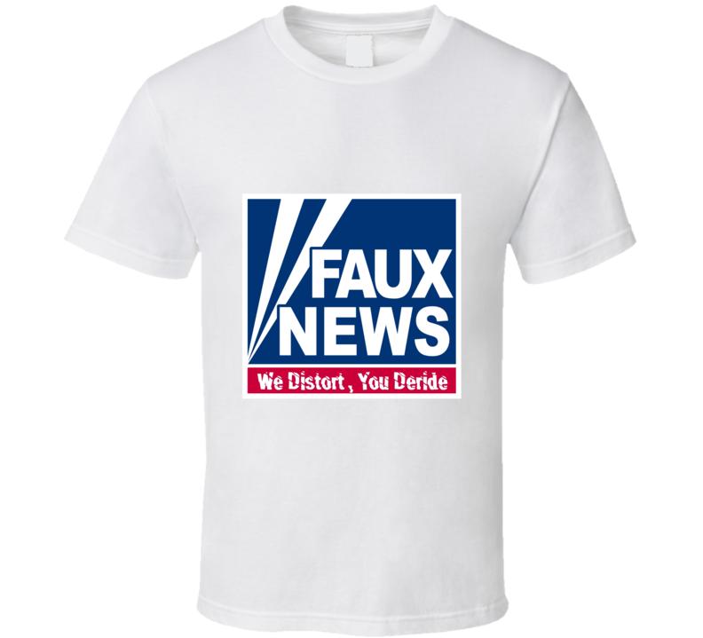Fox Faux News Republican t shirt