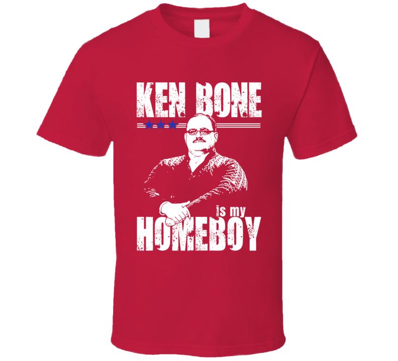 Ken Bone Is My Homeboy Funny President Debate Election Fan T Shirt