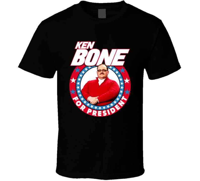Ken Bone For President Funny Debate Election Fan T Shirt