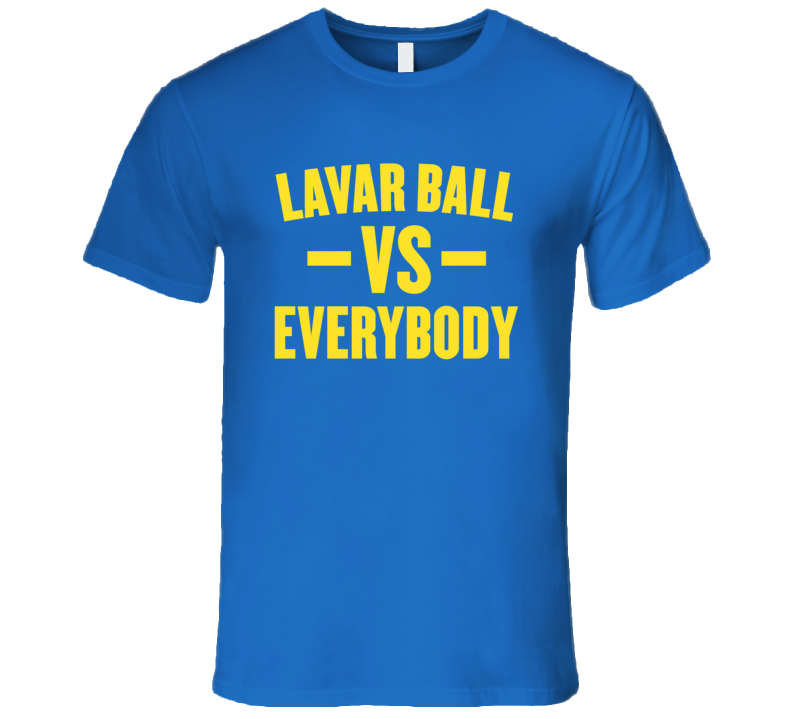 Lavar ball Lonzo ball Charles Barkley Funny everybody basketball t shirt