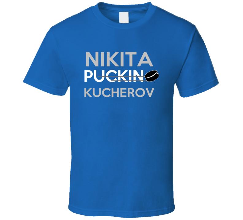 Nikita Kucherov Tampa Bay Puckin Hockey T Shirt