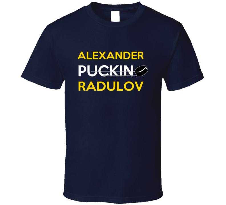 Alexander Radulov Nashville Puckin Hockey T Shirt