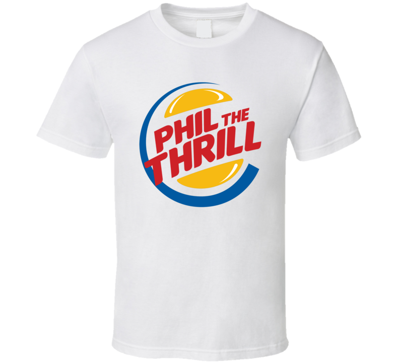 Phil Kessel The Thrill Pittsburgh Hockey Player Funny Burger King T Shirt