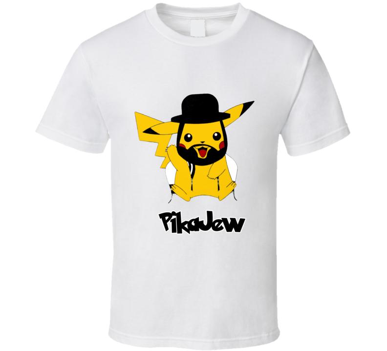 PikaJew Pikachu Funny Jewish Pokemon T Shirt