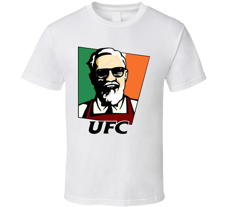 Conor macgregor Floyd mayweather world tour KFC mockup boxing fight tshirt