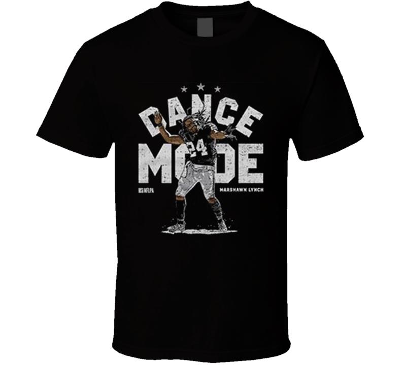 Marshawn Lynch Oakland Runningback Dance Mode Funny  Football T Shirt