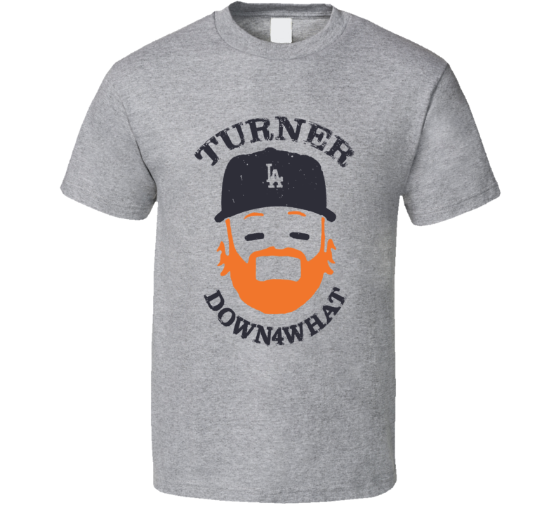 Jason Turner LA Dodgers Turn Down For What Rojo Chingon Red October MVP T Shirt