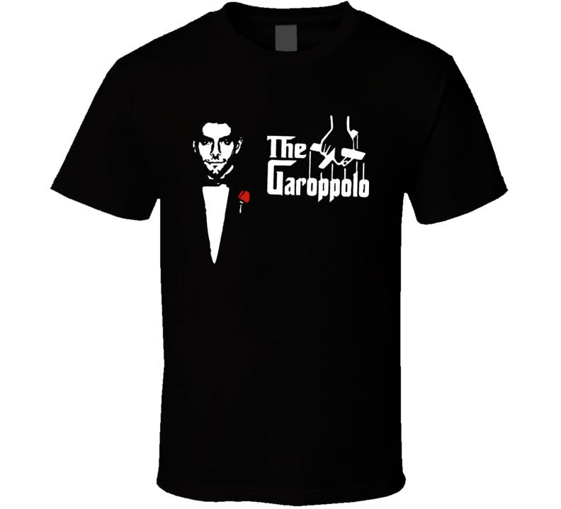 Jimmy Garoppolo San Francisco Quarterback Godfather Savage Saviour Football Tshirt