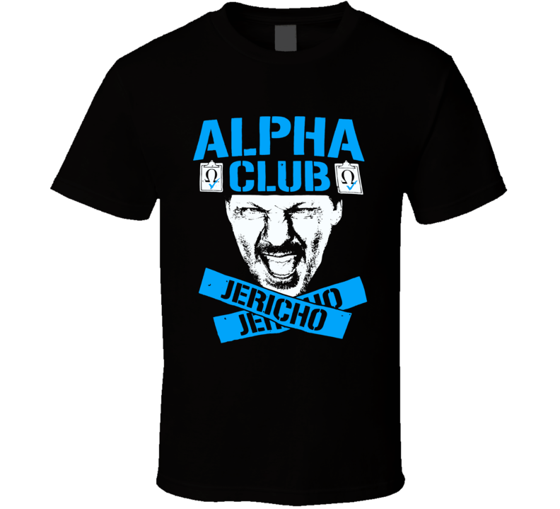 Chris Jericho Alpha Club Wrestling T Shirt
