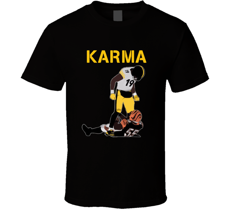 Steelers Karma JuJu Smith-Schuster Vontaze Burfict cool football t shirt