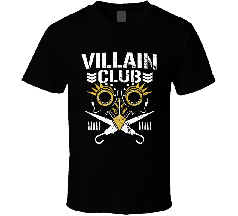 The Villain Club Marty Scurll The Bullet Club Elite Cool T shirt