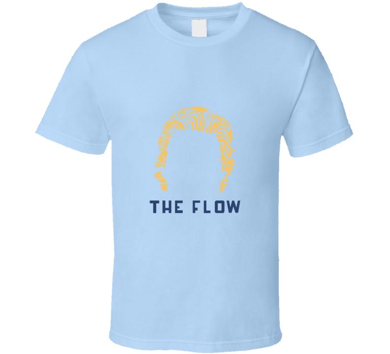 Brock Boeser Vancouver Hockey Player Rookie Phenom Hair Silhouette The Flow T Shirt