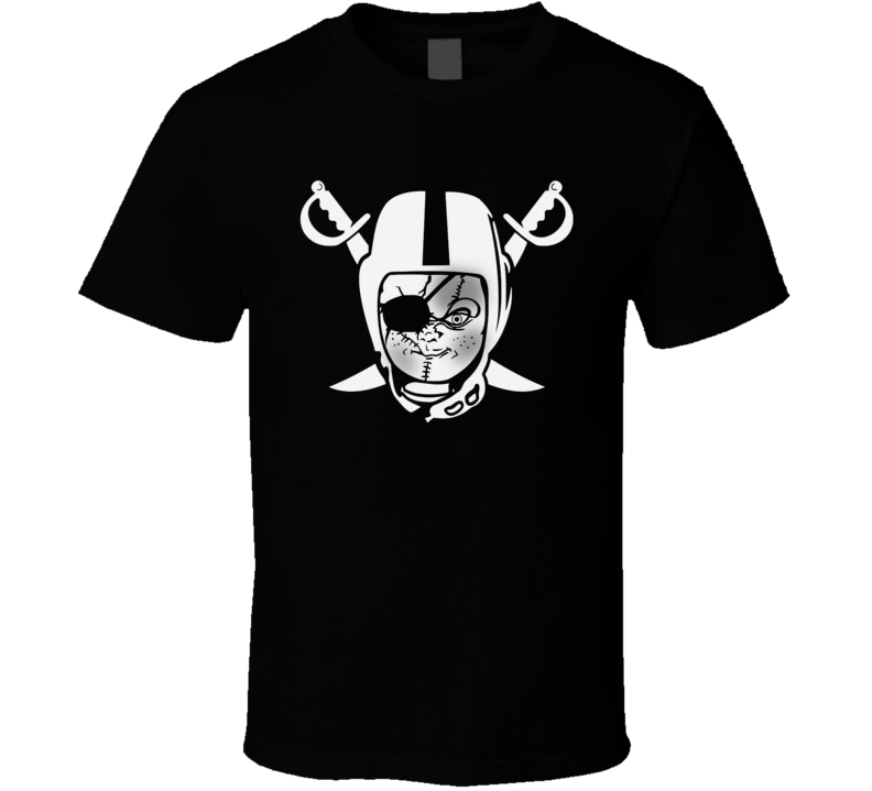 Chucky's Back Oakland Raiders Scary T Shirt