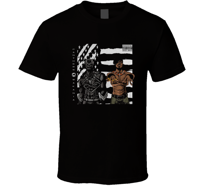 Black Panther Outkast Stankonia album cover T Shirt