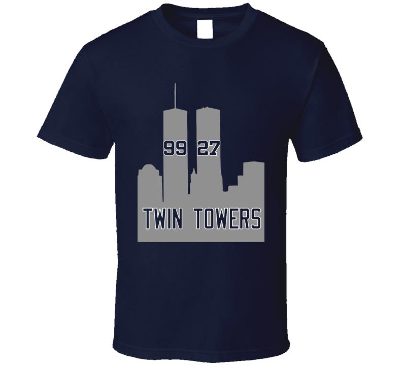 Aaron Judge Giancarlo Stanton Twin Towers New York Baseball Cool Fan Tshirt