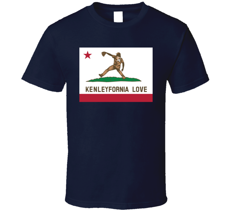 Kenleyfornia Love Kenley Jansen Los Angeles Baseball Fan Gift T Shirt