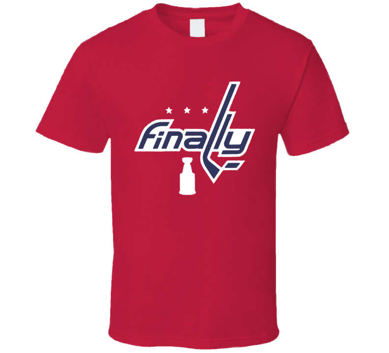 Washington All Caps Ovechkin Stanley Cup Finally Champions Cool Fan T Shirt