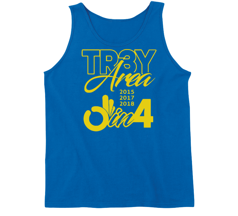 Golden State Back To Back Champs Tr3y Area Parade Cool Fan Tanktop