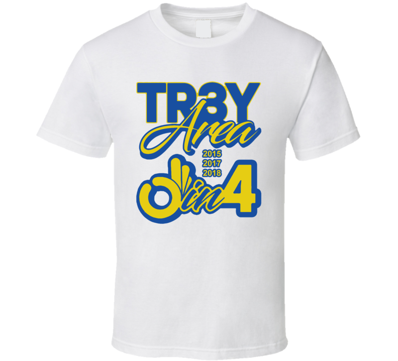 Golden State Back To Back Champs Tr3y Area Parade Cool Fan White T Shirt