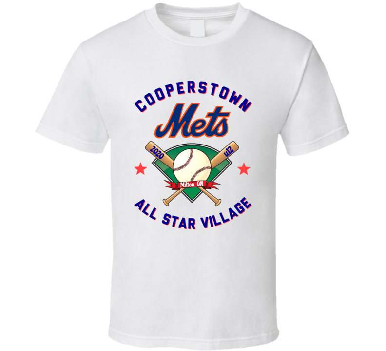 Cooperstown Baseball Front T Shirt